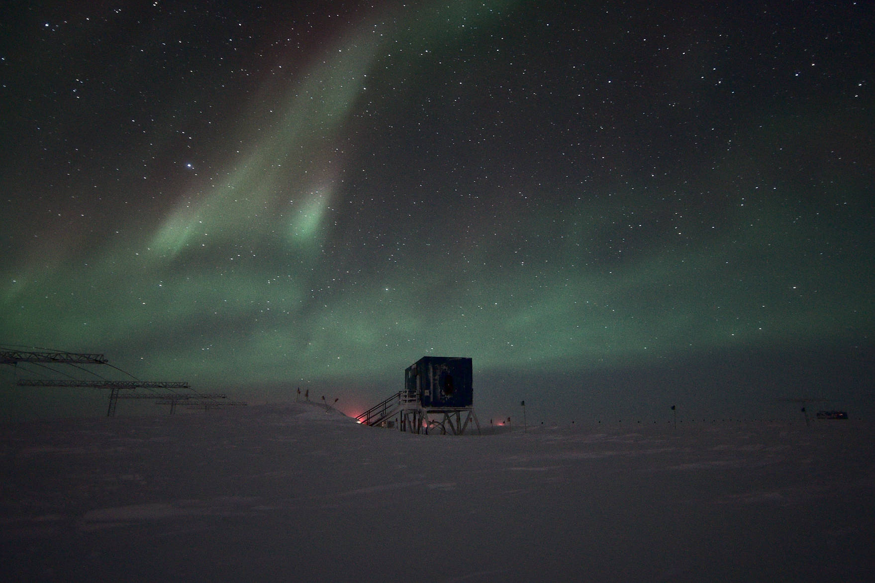 The south pole SuperDARN data acquisition centre